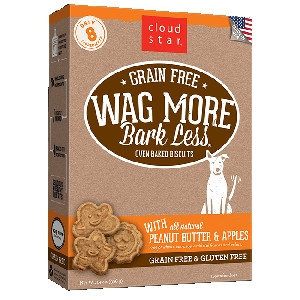 Wag More Bark Less Peanut Butter & Apples $4.99