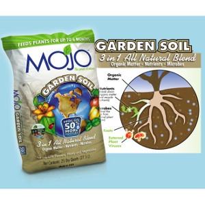 Mojo Garden Soil 25qt $3.99