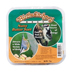 ASSORTED BIRDWATCHER'S BEST 11OZ SUET CAKES $.89