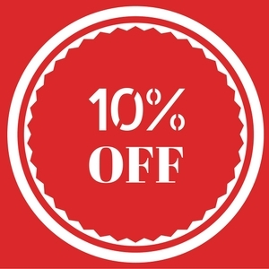 10% Off Party Orders Paid In Full!
