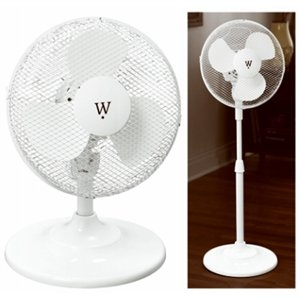 $19.99 12-in. Convertible Stand/Table Fan