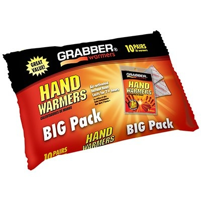$4.99 10-Pk Big Pack Hand Warmers