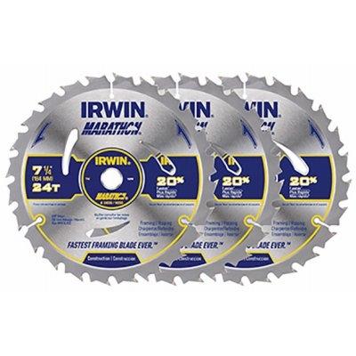 $14.97 Irwin Marathon Circ. Saw Blades, 7.25