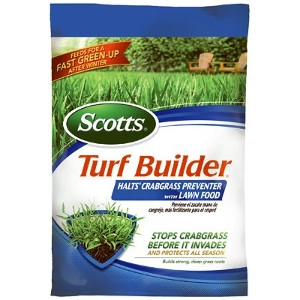 $21.99 For Scotts Turf Builder Crabgrass Preventer