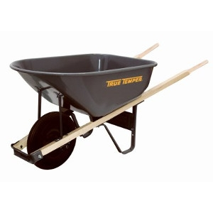 $49.99 For 6-Cu. Ft Steel Wheelbarrow
