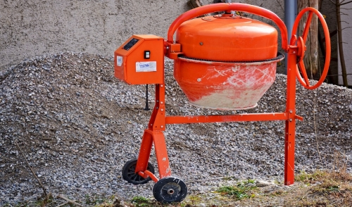 Uses for a Concrete Mixer