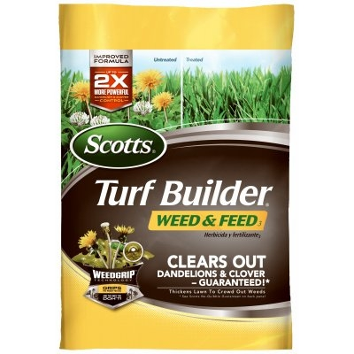 $17.99 Scotts Turf Builder Weed & Feed Fertilizer