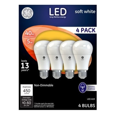 $9.99 for GE® LED Light Bulbs