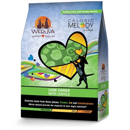 Weruva Caloric Melody Lamb Dinner with Lentils Dry Dog Food 4lb