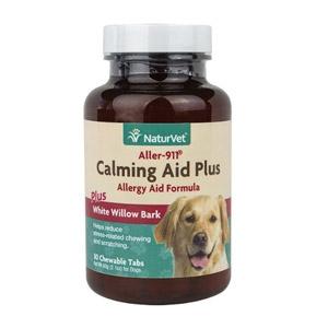 NaturVet® Aller-911 Calming Aid Plus Tabs 30ct