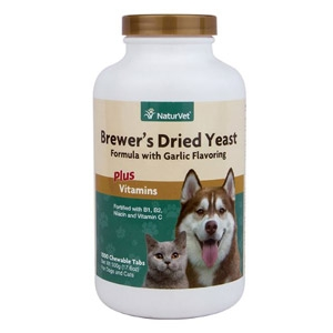 NaturVet® NaturVet®  Brewer's Dried Yeast with Garlic Chewable Tablet 1000ct