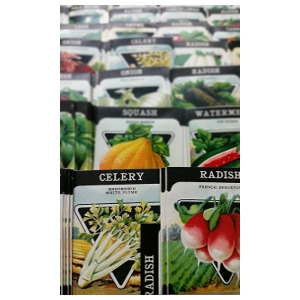 25% Off All Seed Packets