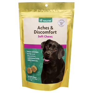 NaturVet Aches & Discomfort Soft Chews 30ct