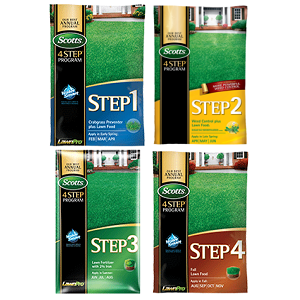Scotts 4 Step Lawn Program 15M