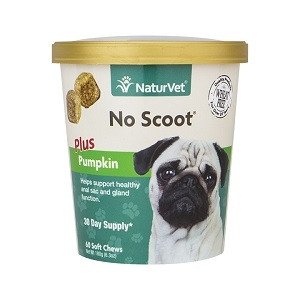 NaturVet No Scoot® Soft Chew Plus Pumpkin 60ct