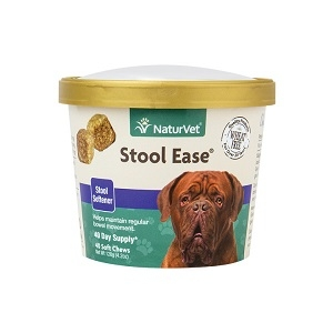 NaturVet Stool Ease Soft Chews 40 Count