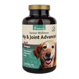 NaturVet Senior Hip & Joint Advanced Chewable Tablets 90 Count
