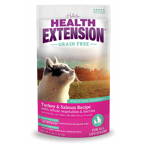 Health Extension GF Turkey & Salmon Feline Recipe 1lb