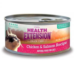 Health Extension GF Chicken & Salmon Feline Canned Recipe 2.8oz