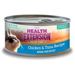 Health Extension GF Chicken & Tuna Feline Canned Recipe 2.8oz
