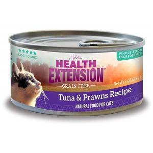 Health Extension GF Tuna & Prawns Feline Canned Recipe 2.8oz