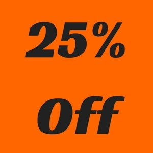 25% Off Blaze Orange Products