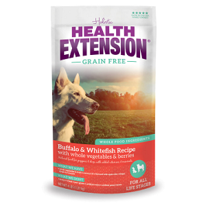 Health Extension Grain Free Buffalo & Whitefish Dog Food 23.5lb
