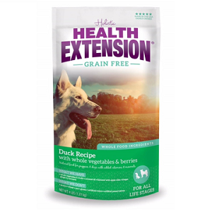 Health Extension Grain Free Duck & Chickpea Dog Food 4lb