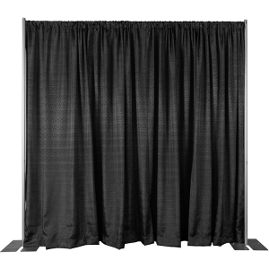 8ft High Pipe & Drape Backdrop