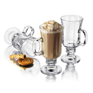 8 Ounce Irish Coffee Glass Mug
