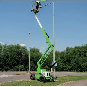 Niftylift 35 ft, Self Propelled Lift
