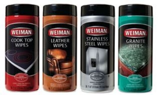 Your Choice 2/$7.00 Weiman 30-Ct. Cleaning Wipes