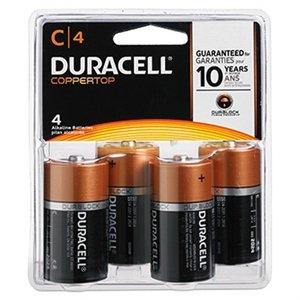 $6.99 4-Pk C, D or 2-Pk 9V Alkaline Batteries