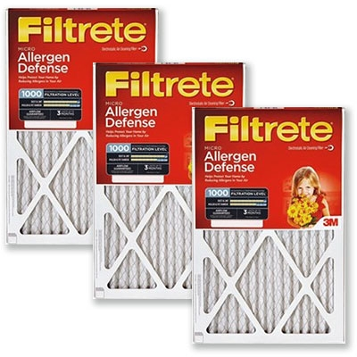 $8.49 Your Choice 3M Allergen Defense Air Filters