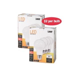 $7.99 Your Choice Feit Electric LED Bulbs