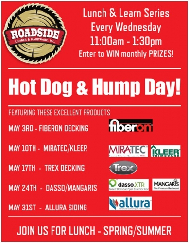 Hot Dog & Hump Day!