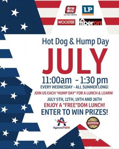 Hot Dog & Hump Day!