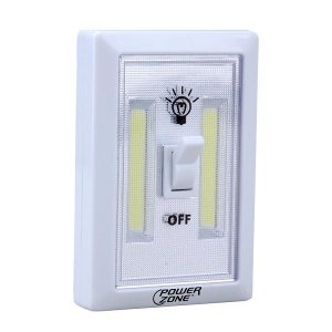 PowerZone Cordless LED Light Switch - $3.99