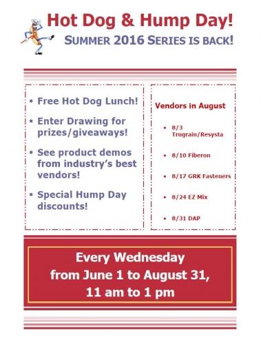 Summer 2016 Hot Dog & Hump Day!
