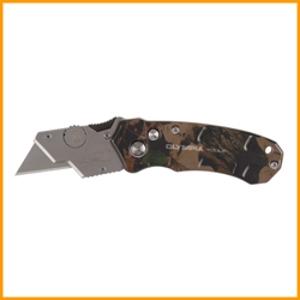 Olympia Tools TurboFold Camo Utility Knife