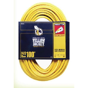 Yellow Jacket 14/2 X 100-Ft. Extension Cord