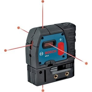 BOSCH® 5-Point Alignment Self-Leveling Laser