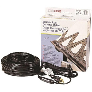 Easy Heat ADKS500 Electric Roof Fixed Resistance Pre-Terminated De-Icing Heating Cable