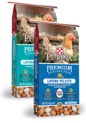 $1.50 Off Purina® Layena Feed