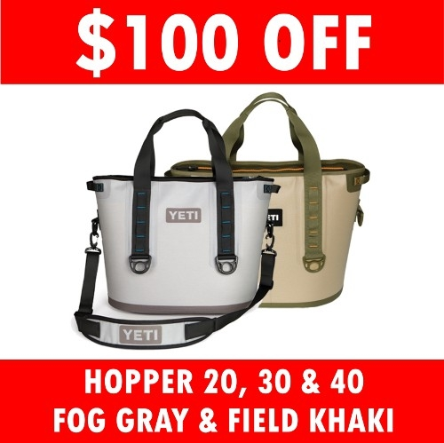 $100 Off Yeti Hoppers!!