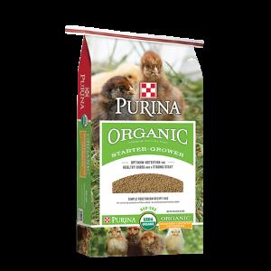 $2.00 Off Purina® Organic Starter-Grower