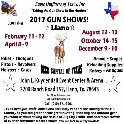 Eagle Outfitters of Texas, Inc. Gun Show