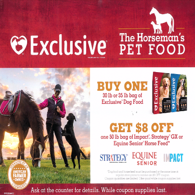 Exclusive® Dog Food: The Horseman's Pet Food