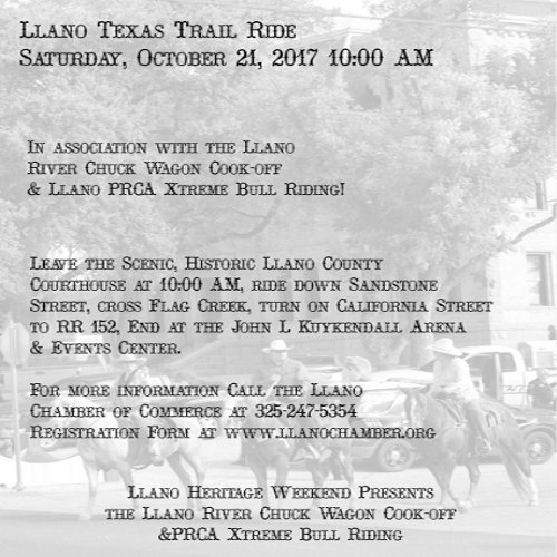Llano Heritage Trail Ride