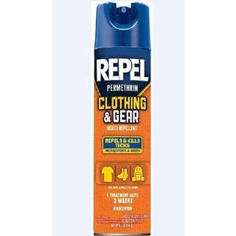 Repel® Clothing & Gear Insect Repellent (6.5Oz-Aerosol-'Permethrin')